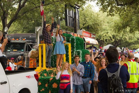 The Imagery Of Ian Aberle Smus 2013 Homecoming Parade The